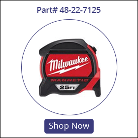 48-22-7125 milwaukee magnetic tape measure 25
