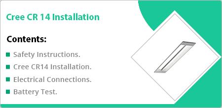 cree cr 14 installation guide