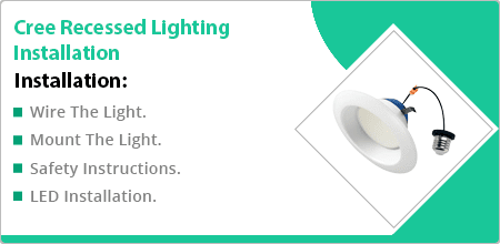 cree recessed lighting installation guide