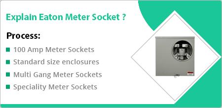 eaton meter socket