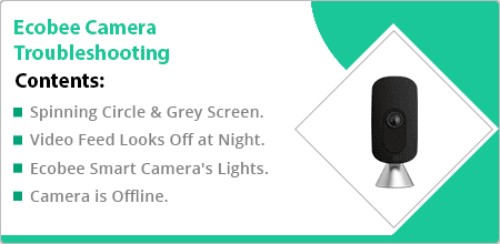 ecobee camera troubleshooting guide