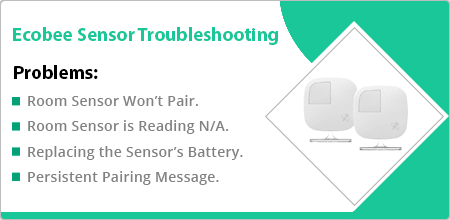 ecobee sensor troubleshooting guide