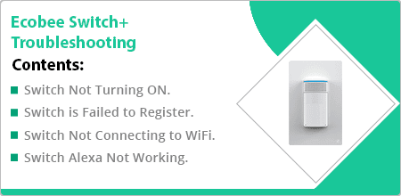 ecobee switch troubleshooting guide
