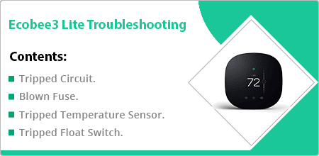 ecobee3 lite troubleshooting guide