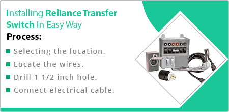 installing reliance transfer switch in easy way