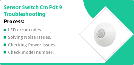 sensor switch cm pdt 9 troubleshooting guide