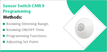 sensor switch cmr 9 programming guide