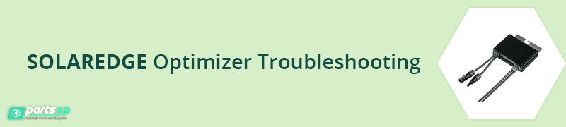 solaredge optimizer troubleshooting