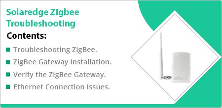 solaredge zigbee troubleshooting guide