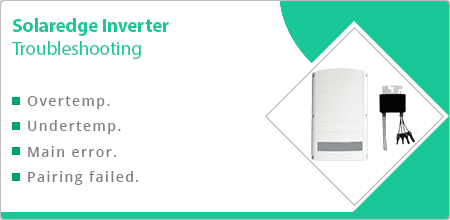 troubleshooting solaredge inverter