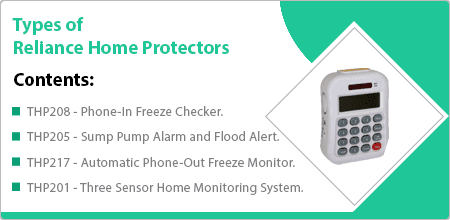 types in reliance home protectors