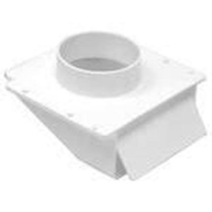 """Picture of Lambro 143W Under Eave Vent, 4"""""""