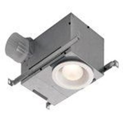 Picture of Nutone 744NT Ceiling Fan/Light, Incandescent, 70 CFM