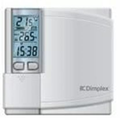 Picture of Electromode DWT431W-P Thermostat, 7-Day Programmable, 4000W