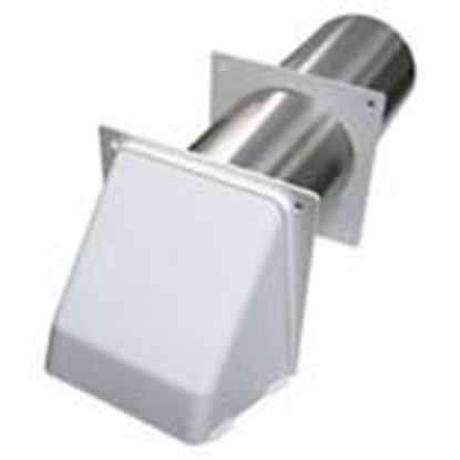 """Picture of Lambro 209W 4"""" Hood Vent"""