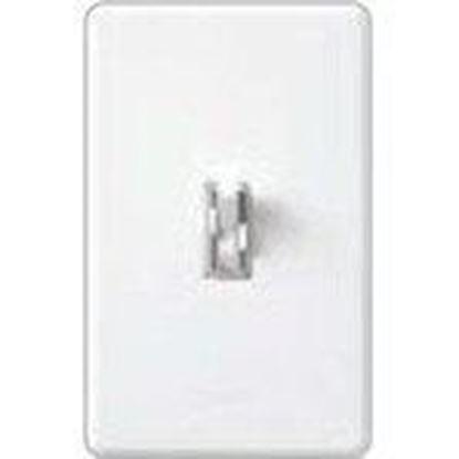 Picture of Lutron AY2-LFSQ-LA Fan/Light Control, Toggle Switch, 1.5A, 120V, 300W, Light Almond