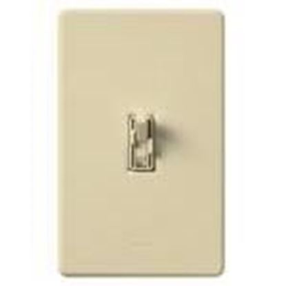 Picture of Lutron AY2-LFSQH-IV Fan/Light Control, Toggle Switch, 1-Pole, 300W, 1.5A, 120V, Ivory