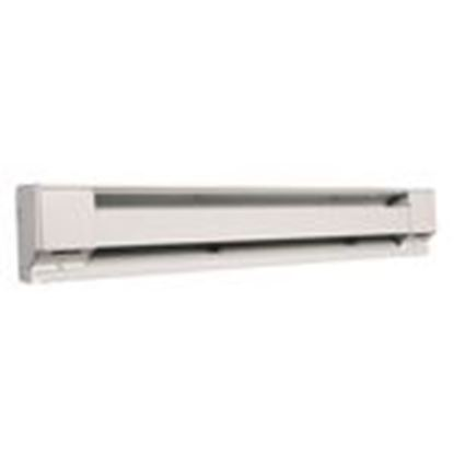 Picture of Qmark 2576W Electric Baseboard Heater, 1500/1128/846W, 277/240/208V