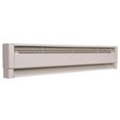 Picture of Qmark HBB1254 Electric Hydronic Baseboard Heater, 1250/938W, 240/208V