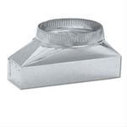 """Picture of Broan T460 3-1/4"""" to 14"""" x 7"""" Vent Adapter"""
