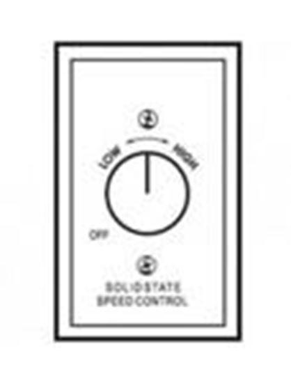 Picture of Berko 12008 120v, 8 Amp Fan Motor Speed Control