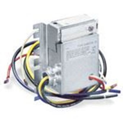 Picture of White-Rodgers 24A05E-1 Thermostat, Dual Level Temp Controller, 208V