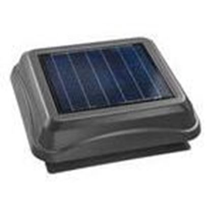 Picture of Broan 345SOWW Solar Powered Attic Ventilator, Weather Wood