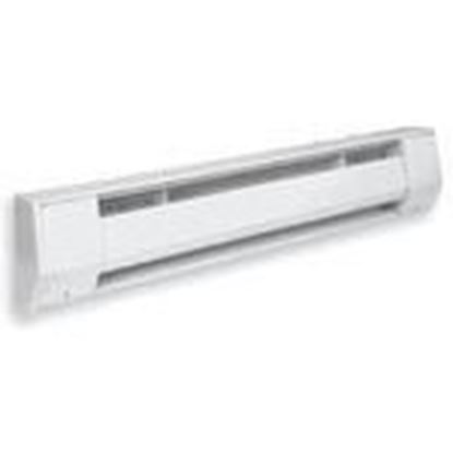 Picture of King Electrical 6K1215BW KNG6K1215BW Baseboard Heater, 120V, 1500W