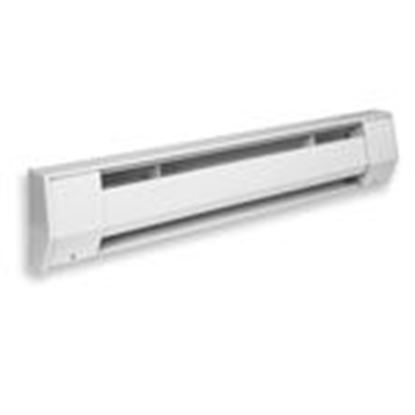 Picture of King Electrical 2K1205BW 2K1205BW Baseboard Heater, 120V, 500W