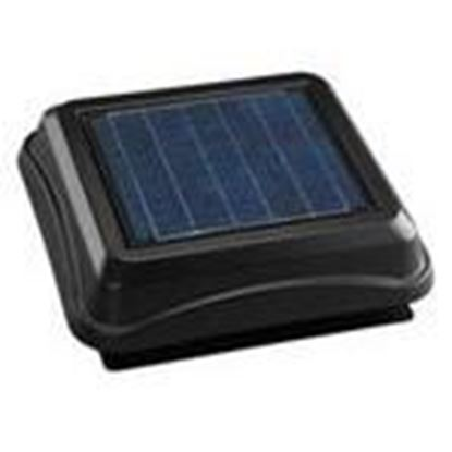 Picture of Broan 345SOBK Solar Powered Attic Ventilator, Black
