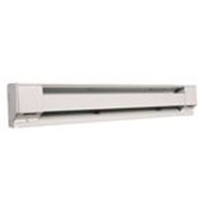 Picture of Qmark 2546W Electric Baseboard Heater, 1500/1128W, 240/208V
