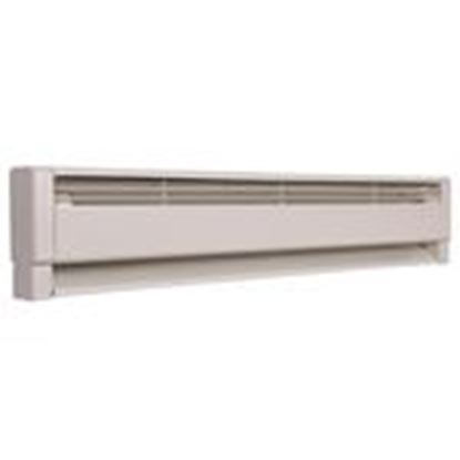 Picture of Qmark HBB1004 Electric Hydronic Baseboard Heater, 1000/750W, 240/208V