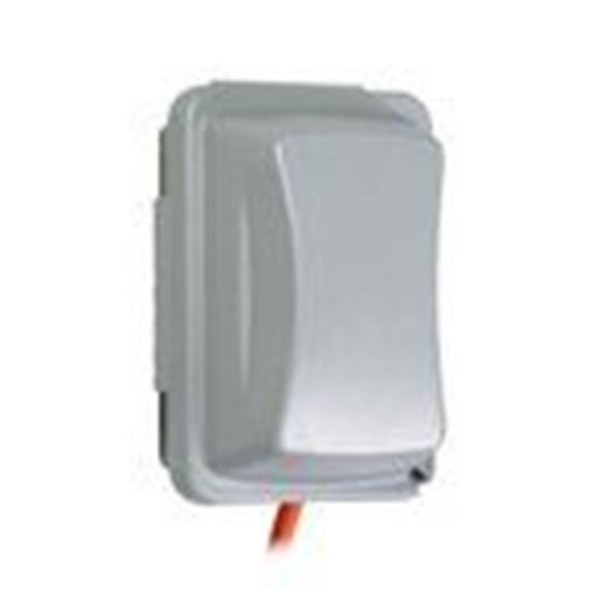 Picture of Hubbell-TayMac MM410G Weatherproof While-In-Use Cover, 1-Gang, Vertical/Horizontal, Gray