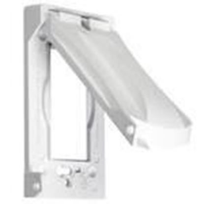 Picture of Hubbell-TayMac MX1050W Weatherproof Cover, 1-Gang, Vertical/Horizontal Mount, Die Cast
