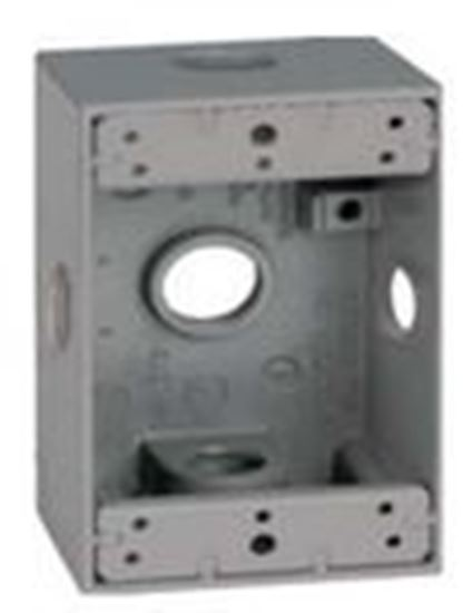 "Picture of BWF DB75-22XV 2-5/8"" Deep, 1-Gang, Outlet Box"