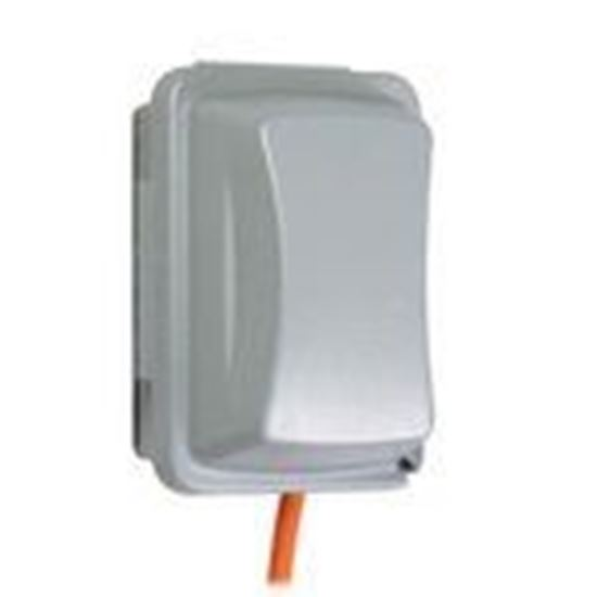 """Picture of Hubbell-TayMac MM510G Weatherproof-In-Use Cover, 1-Gang, Vertical/Horizontal, Depth: 3.25"""""""