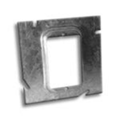"""Picture of RANDL Industries D-51G058 5"""" Square x Single Gang Extension Ring"""