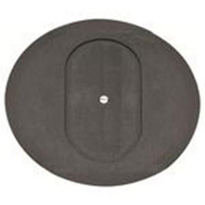 "Picture of Kraloy 078877 Round Floor Box Cover, Diameter: 5-3/4"", Non-Metallic"