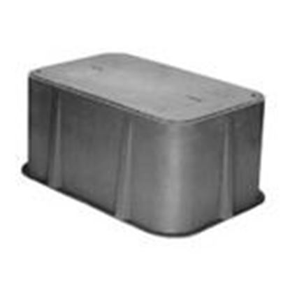 "Picture of Hubbell-Quazite PD1730Z501PB-PG&E Box and Lid, 17"" x 30"" x 18"""