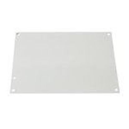 """Picture of Kraloy 077861 Panel For Junction Box, 8"""" x 8"""", Steel/Epoxy Finish"""