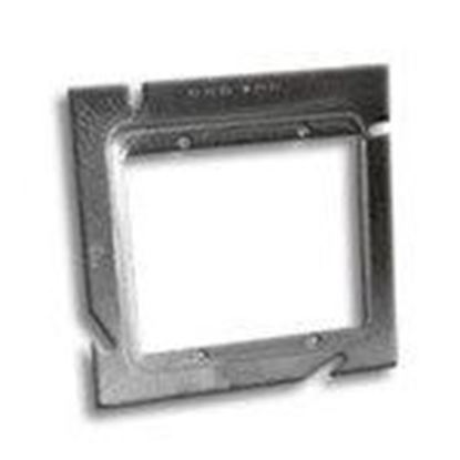 """Picture of RANDL Industries L-52G058 5"""" Square x Double Gang Extension Ring"""