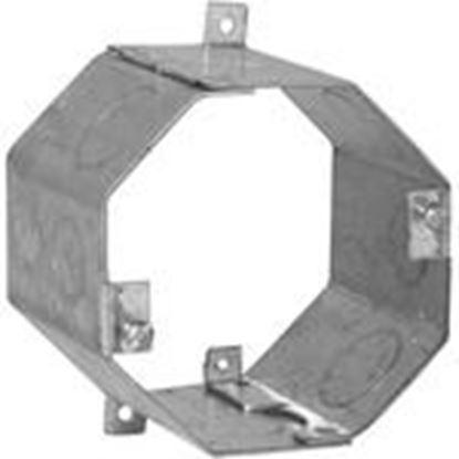"Picture of Appleton 0CR3 4"" Octagon Box, 3"" Deep, Drawn, Metallic"