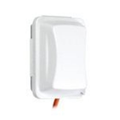 Picture of Hubbell-TayMac MM410W Weatherproof While-In-Use Cover, 1-Gang, Vertical/Horizontal, Clear