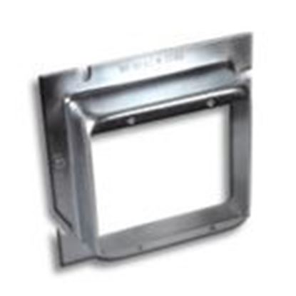 """Picture of RANDL Industries L-52G114 5"""" x Double Gang Extension Ring, 1-1/4"""" Deep"""