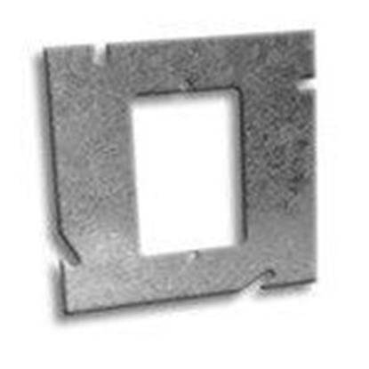 """Picture of RANDL Industries D-51G000 5"""" Square x Single Gang Extension Ring"""