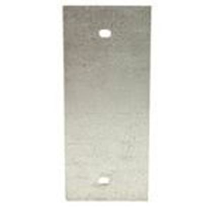 Picture of Wiremold SGT-B Panel Device Plate, 1-Gang, Device Type: Blank, Metallic
