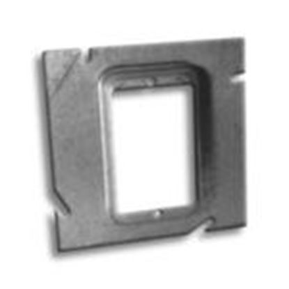 """Picture of RANDL Industries D-51G012 5"""" Square x Single Gang Extension Ring"""