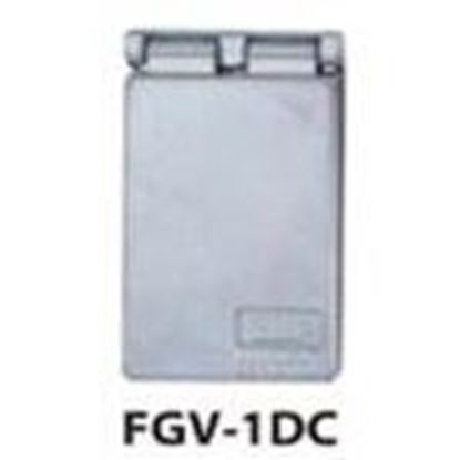 Picture of BWF FGV-1DCV Weatherproof-In-Use Cover, 1-Gang, Type: GFCI