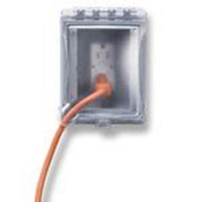 Picture of Hubbell-TayMac MR420CZ Recessed Weatherproof Box