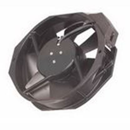 "Picture of Hoffman 101091124SP Compact Axial Fan, 12""x 12"" x 10"", 230 Volt, Non-Metallic/Black"